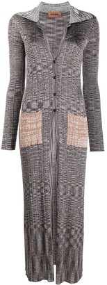 Missoni Marl-Knit Long Cardigan