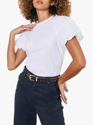 Mint Velvet Puff Sleeve T-Shirt