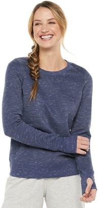 Tek Gear Women's Ultrasoft Fleece Crewneck Sweatshirt