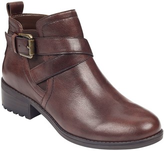Easy Spirit Leather Ankle Booties - Reward