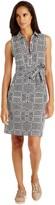 J.Mclaughlin Dolly Shirtdress in Neo Tangier Tile