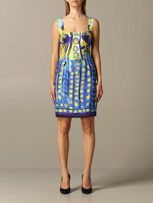 Moschino Printed Sheath Dress