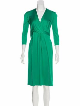 Issa Silk Surplice Dress