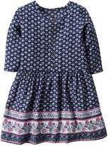 Carter's Toddler Girl Patterned Print Border Dress