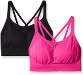 Spalding Women's Strappy Cami Seamless Bra in a Value (Pack of 2)