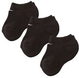 Nike Pack of 3 Black No Show Socks
