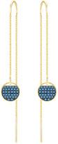 Swarovski Ginger Pierced Earrings, Blue