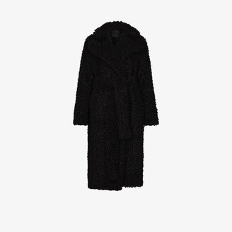 Markoo Oversized Faux Shearling Coat