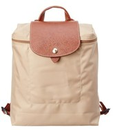 Longchamp Le Pilage Nylon Backpack.