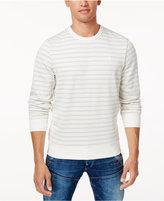 G Star Men's Logo Striped Sweatshirt