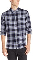 AG Adriano Goldschmied Men's Nimbus Long Sleeve Woven Shirt In
