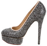 Charlotte Olympia Dolly Glitter Pumps