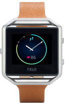 Fitbit Blaze FB159LBSCML Large Leather Accessory Band