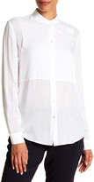 ATM Anthony Thomas Melillo Square Bib Boyfriend Shirt