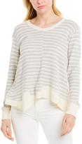 Wilt Womens Mock Layered Sweatshirt