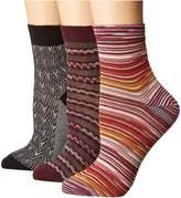 Missoni CA00CMDTRIP Women's No Show Socks Shoes