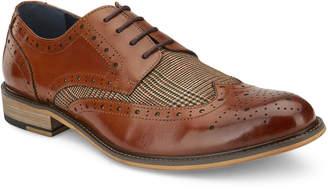 Vintage Foundry Men's Stuttgart Leather & Plaid Wing-Tip Oxfords