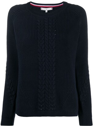 Tommy Hilfiger Cable-Knit Jumper