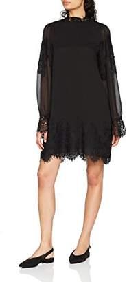 Tigha Women's Louna Dress, (Black 900)
