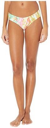 Becca by Rebecca Virtue Coral Reef Eco Rib Reagan American Fit Bottoms (Multi) Women's Swimwear