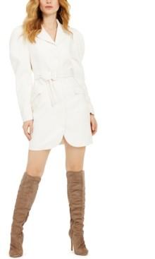 GUESS Karlie Belted Blazer Dress