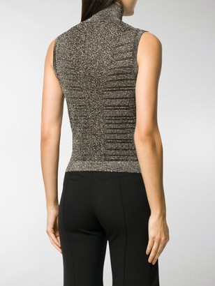 Chloé Knitted Metallic Top