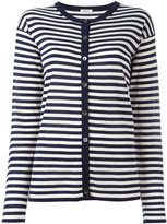 P.A.R.O.S.H. striped cardigan - women - Silk/Cashmere - M