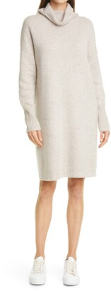 Nordstrom Signature Long Sleeve Cashmere Blend Sweater Dress