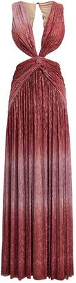 PatBO Ombre Lurex Cut-Out Gown