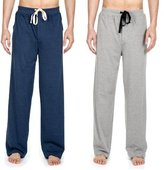 Noble Mount Men's 2-Pack Premium Knit Sleep/Lounge Pants