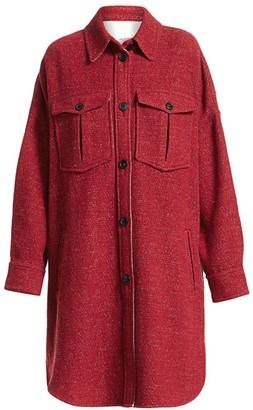 Etoile Isabel Marant Obira Wool-Blend Coat