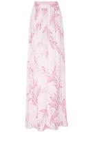 Giambattista Valli Georgette Floral Maxi Skirt