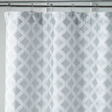 Pier 1 Imports Links Geometric Seaglass Shower Curtain