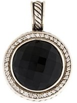 David Yurman Diamond & Onyx Cerise Enhancer