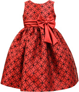 Jayne Copeland Red Lattice A-Line Dress - Infant Toddler & Girls