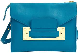 Sophie Hulme Blue Leather Handbags