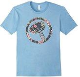 Marvel Hammer Thor Floral Print Graphic T-Shirt