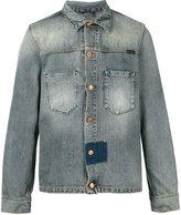 Nudie Jeans denim patch detail jacket