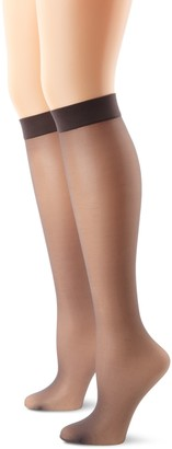 Hanes Women's Knee High With No Slip Band