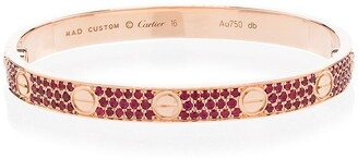 MAD Paris customised Cartier Love 18kt rose gold bracelet