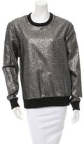 Nomia Brocade Pullover Sweatshirt