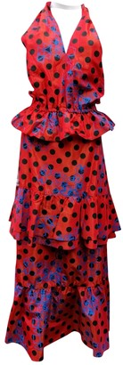 Christian Lacroix Red Dress for Women Vintage