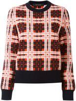 Cédric Charlier checked jumper - women - Polyamide/Mohair/Alpaca/Virgin Wool - 40