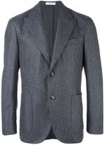 Boglioli peaked lapel blazer