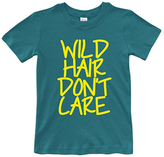 Urban Smalls Peacock 'Wild Hair Don't Care ' Crewneck Tee - Toddler & Boys