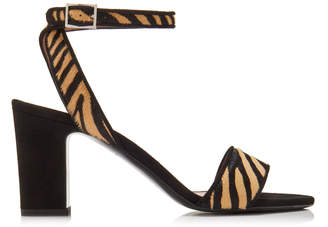 Tabitha Simmons Leticia Printed Leather Sandals Size: 36