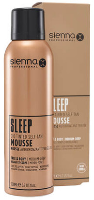 Sienna X Sleep Q10 Tinted Self Tan Mousse 200ml