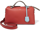 Fendi By The Way Small Leather Shoulder Bag - Red
