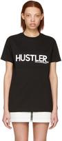 Hood by Air Black hustler T-shirt