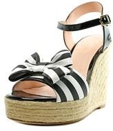 Kate Spade Darya Open Toe Synthetic Wedge Sandal.
